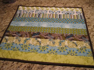 Quick quilt: Jelly roll