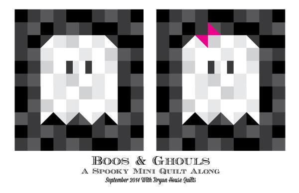 Boos and Ghouls: Making Eyes, Feet, and Bow {Quilt Along}