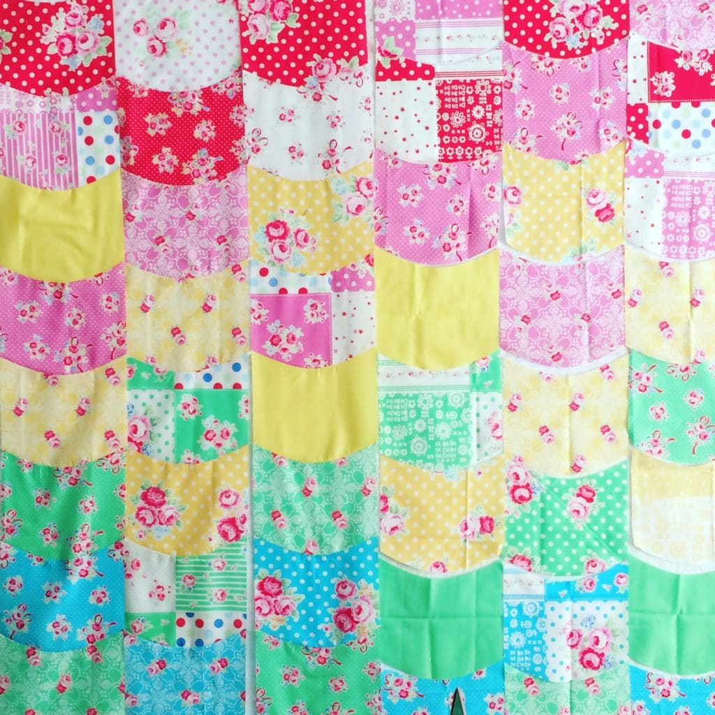 Sugar Cookie Quilt: A Colorful Sewing DIY