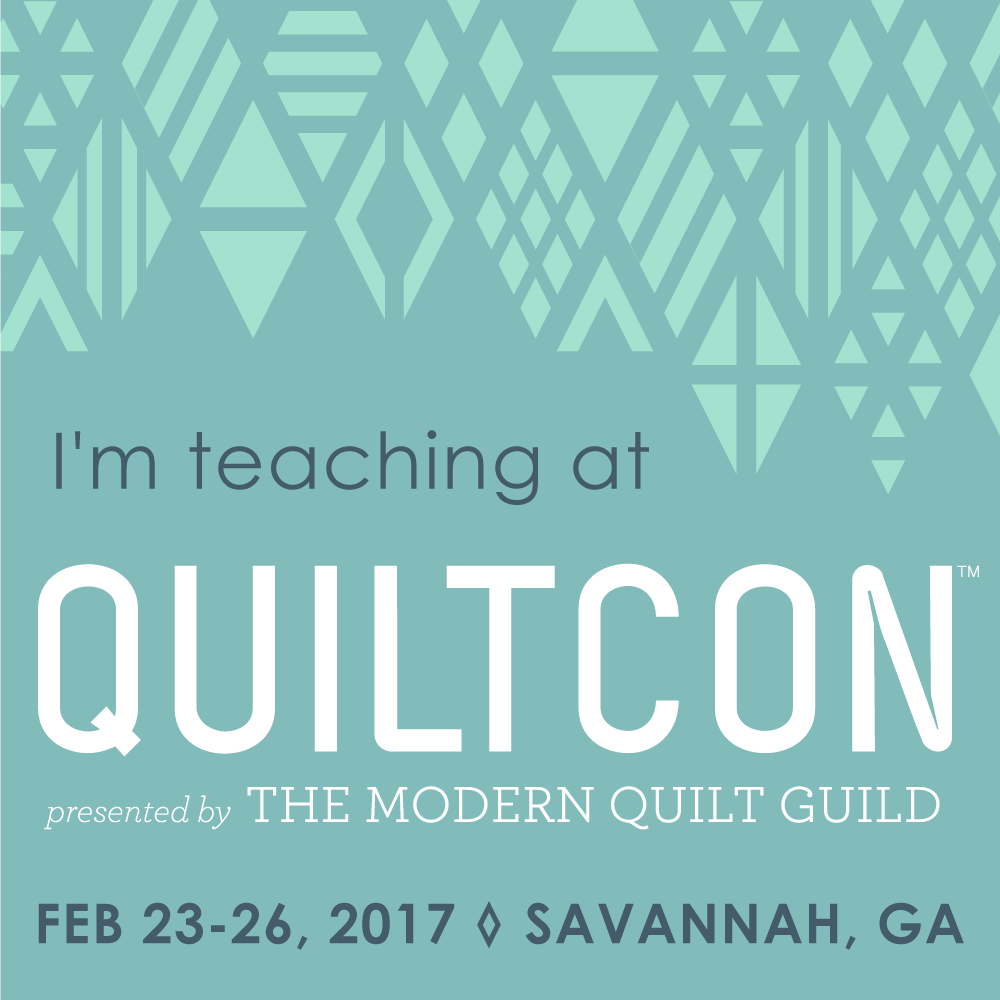 QuiltCon 2017 {Teaching}