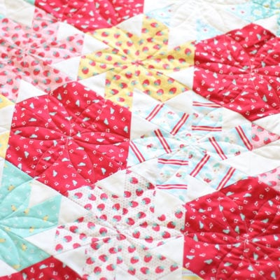 Little Ruby Quilt Along {Finish}
