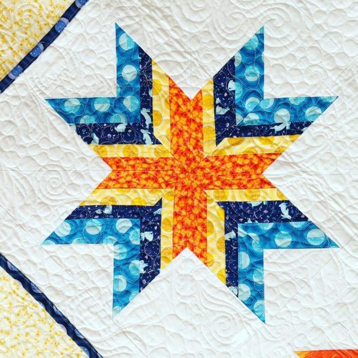 Feathered Star {Luna Sol Blog Hop}