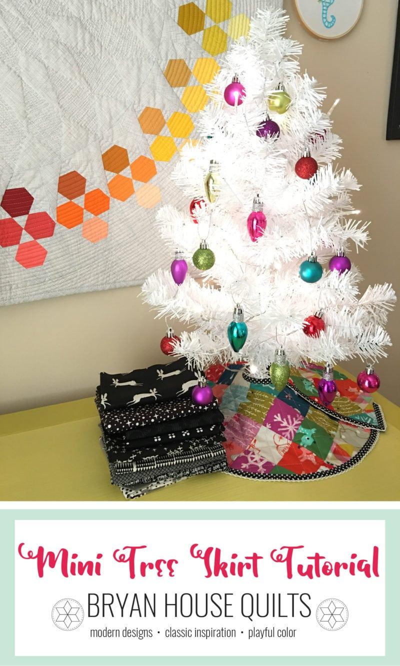 christmas tree skirt tutorial