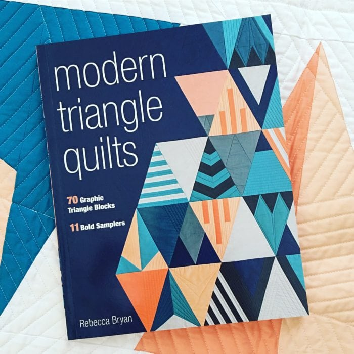 Introducing Modern Triangle Quilts
