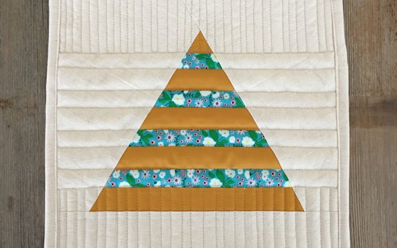 Triangle in a Square {Block Tutorial from Design Improv with Triangles}