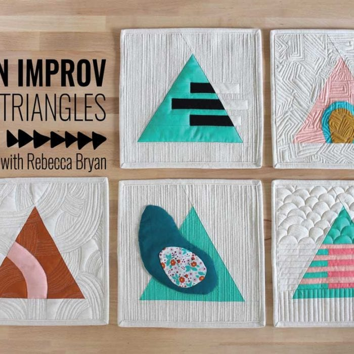 Design Improv with Triangles {Registration is now Open!}