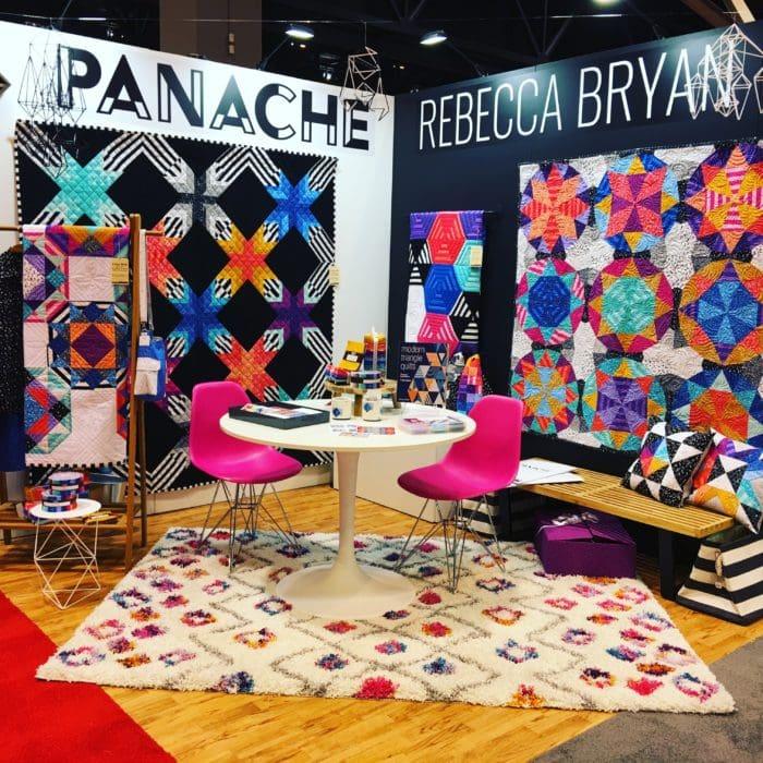 2017 Spring Quilt Market Recap {Panache Quilts}