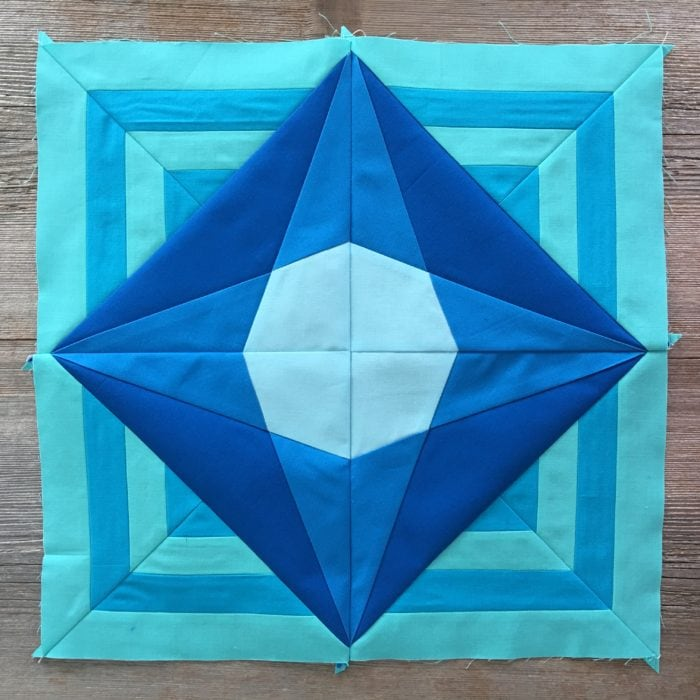Week 1 {Modern Triangle Medallion Quilt Along}