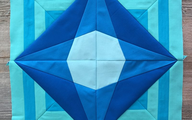 Week 1 {Modern Triangle Medallion Quilt Along}
