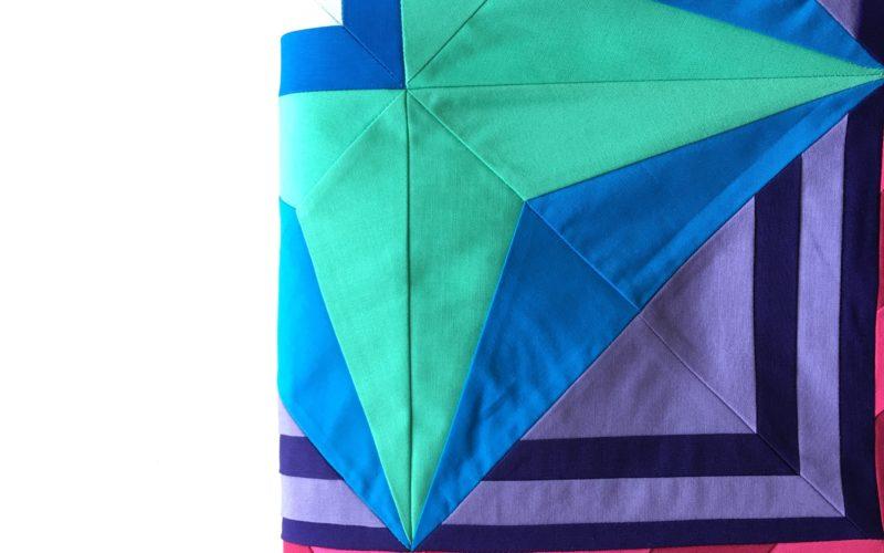 Week 3 {Modern Triangle Medallion Quilt Along}