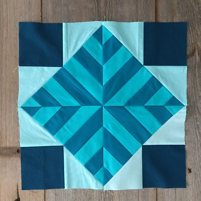 Week 2 {Modern Triangle Medallion Quilt Along}