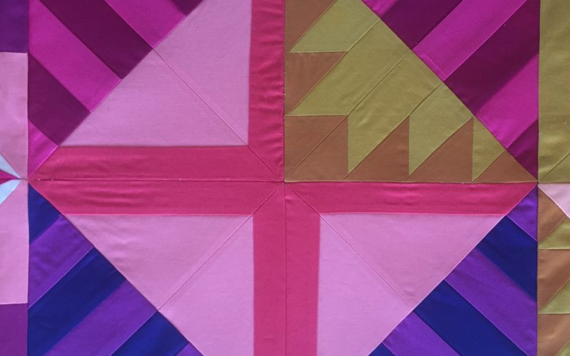 Week 5 {Modern Triangle Medallion Quilt Along}