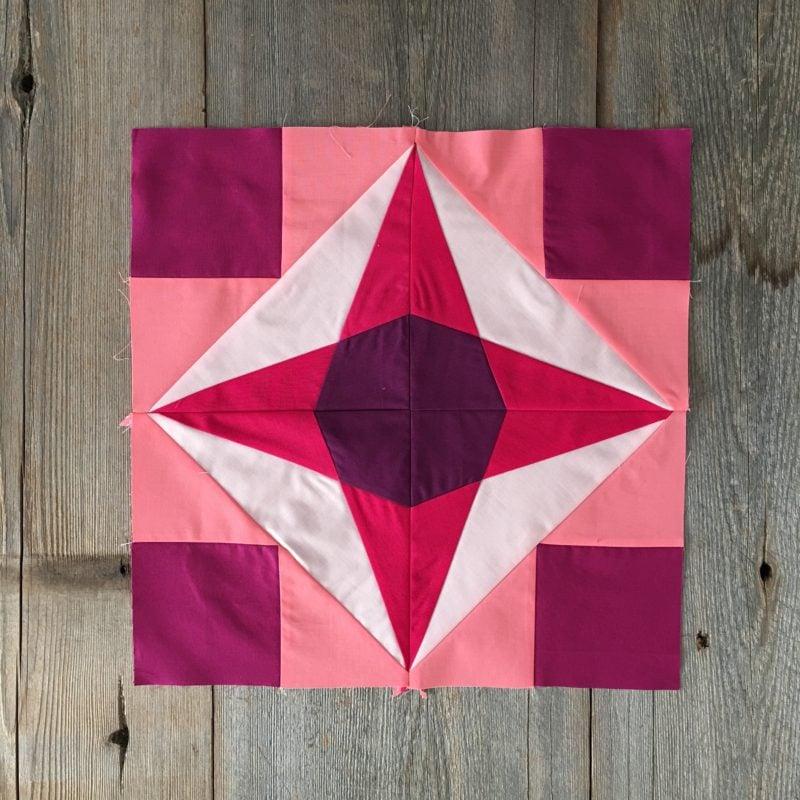 Week 6 {Modern Triangle Medallion Quilt Along}