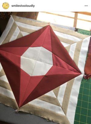 Week 5 {Modern Triangle Medallion Quilt Along}