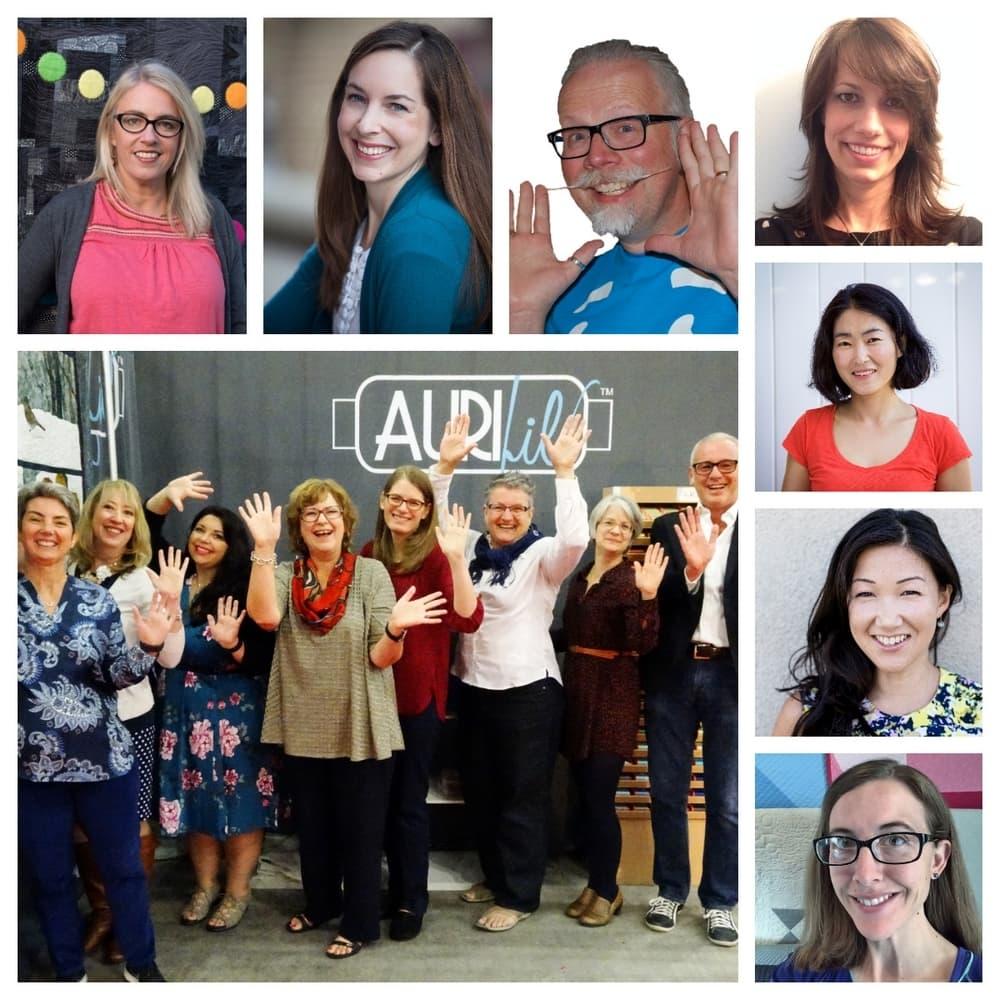 Aurifil 2018 Design Team