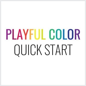 Free Mini Course – Playful Color Quick Start