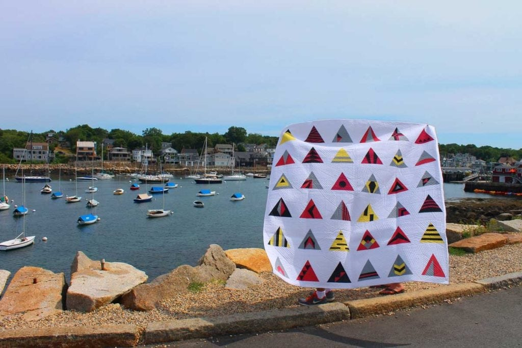 Modern Triangle Quilts