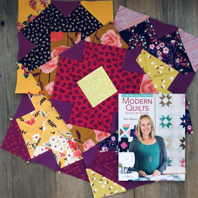 A New Autumn Quilt {Modern Quilts Block by Block}