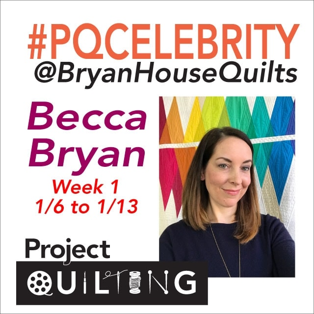 Bryan House Quilts, Project Quilting Challenge