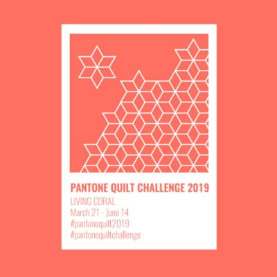Pantone Quilt Challenge 2019 – Living Coral