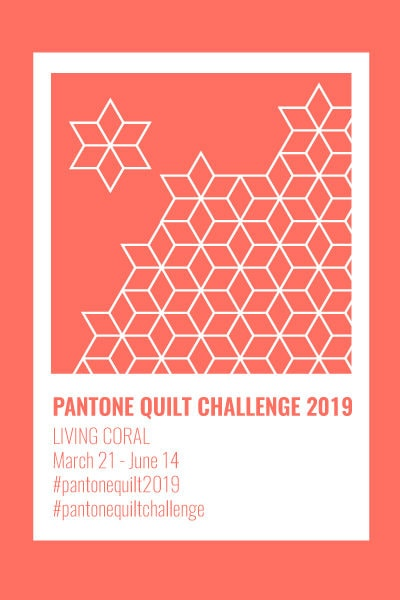 2019 Pantone Quilt Challenge – Link Party