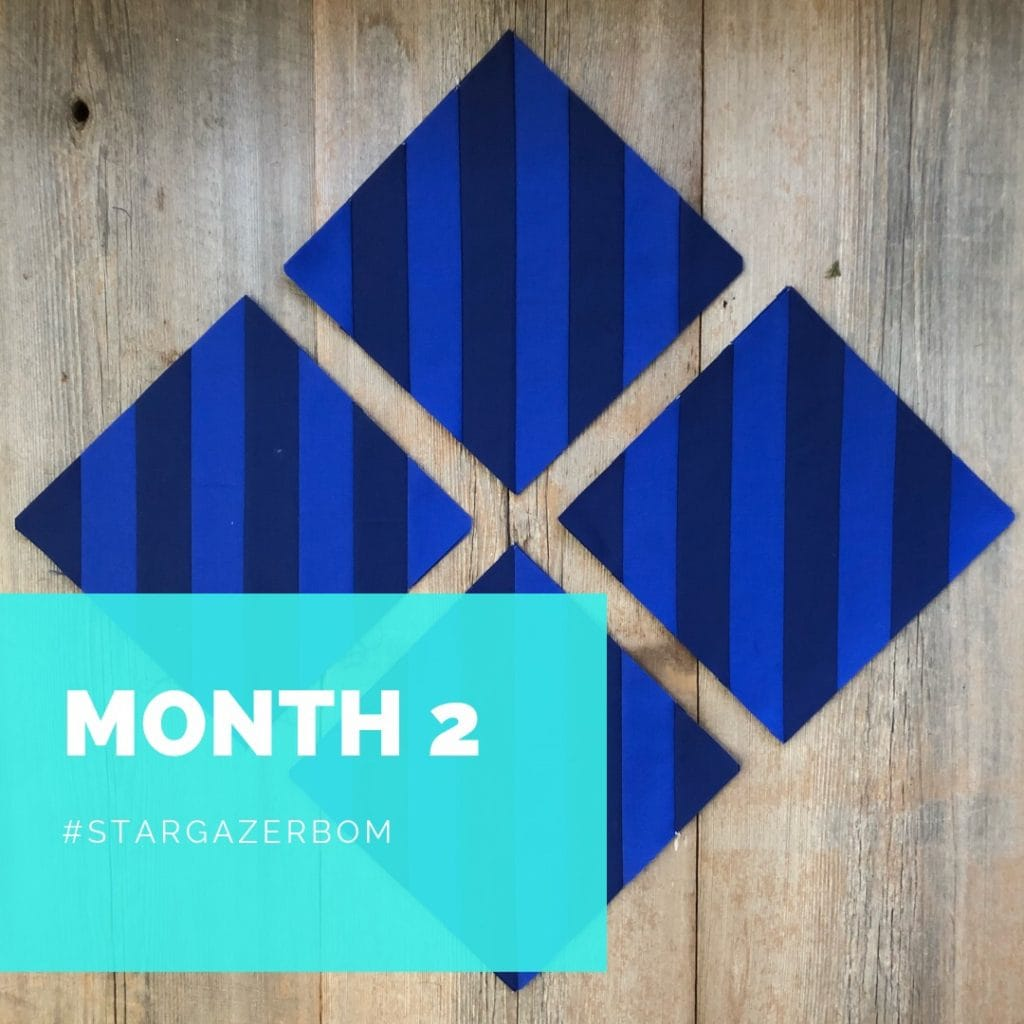 Stargazer Block of the Month, Month 2, Rebecca Bryan