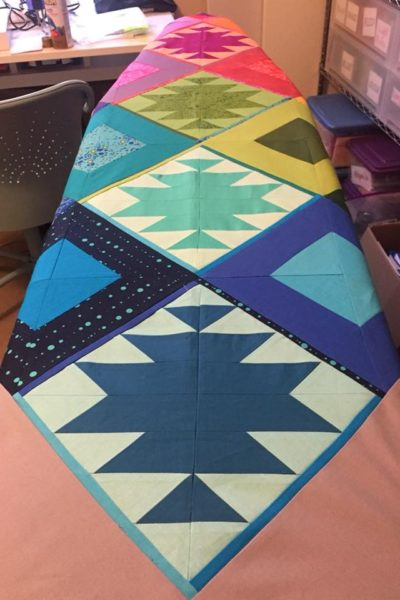 When life gives you lemons… you make an awesome quilt!