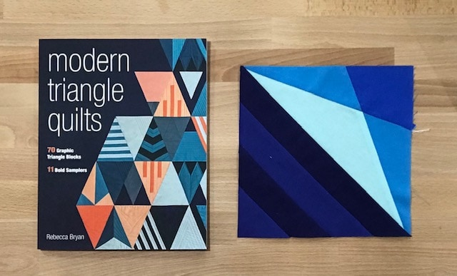 Modern Triangle Quilts, Bryan House Quilts