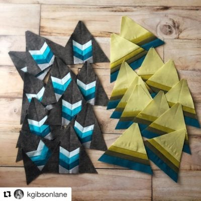 Make Modern Triangle Quilts